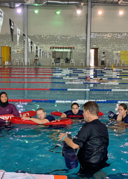 pool lifeguard qualification course uae