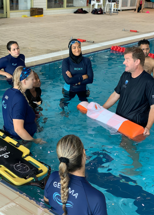 pool lifeguard qualification course